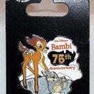 Disney Bambi 75th Anniversary Pin Limited Edition 3000