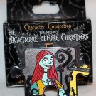 Disney Character Connection Nightmare Before Christmas Puzzle Piece Mystery Pin Sally Ltd Ed 900