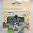 Disney Character Connection Lady and the Tramp Puzzle Piece Mystery Pin Tramp Ltd Ed 900