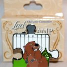 Disney Character Connection Lady and the Tramp Puzzle Piece Mystery Pin Mr. Busy Ltd Ed 900