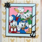 Disney Characters Family Portraits Reveal-Conceal Mystery Pin Donald Duck Limited Release