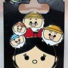 Disney Parks Snow White and the Seven Dwarfs Tsum Tsum Pin