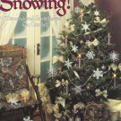 Leisure Arts It's Snowing 10 Dimensional Snowflakes to Crochet