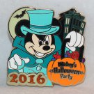 Disneyland Mickey's Halloween Party 2016 Pin Mickey at Haunted Mansion Ltd Edition 1000