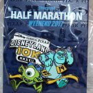 Disneyland runDisney Pixar Half Marathon Weekend 2017 10K Pin