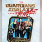 Disneyland Marvel Guardians of the Galaxy Mission Breakout Group Pin