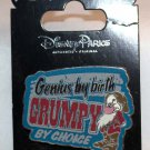 Disney Parks Seven Dwarfs' Grumpy by Choice Pin