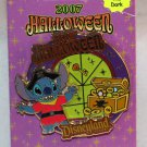 Disneyland Halloween 2007 Pin Stitch Limited Edition 1000 Glow in the Dark