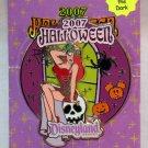 Disneyland Halloween 2007 Pin Jessica Rabbit Limited Edition 1000 Glow in the Dark