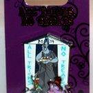 Disney All Tricks No Treats 2014 Pin Hades, Pain and Panic Limited Edition 3000