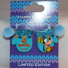 Disney Paradise Pier Hotel Holiday Mitten Resort Collection 2015 Pins Goofy Limited Edition 500