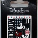 Disney Parks Mickey Mouse with U.S. Flag Pin
