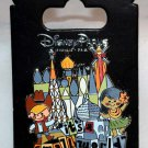 Disney Parks It's A Small World Attraction Pin