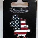 Disney Parks Mickey Mouse as U.S. Flag Pin