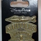 Walt Disney World Nautilus and Squid Sculpted Pin