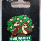 Disney Parks Chip and Dale Pin Our Family Tree is Full of Nuts