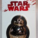 Disney Star Wars The Last Jedi BB-8 Sculpted Chrome Pin Limited Edition 5000