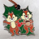 Disney Woodland Winter Mystery Reveal-Conceal Pin-Ornament Chip and Dale Limited Release