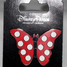 Disney Parks Butterfly Pin With Minnie Mouse Polka Dots