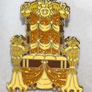 Disney Princess Royal Hall Mystery Set Belle Throne Pin Limited Release