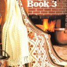 Leisure Arts Afghan Book 3 - 17 Designs to Crochet, Knit, Afghan Stitch, Broomstick Lace