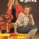 Leisure Arts Knitted Leg Warmers and Socks 5 Designs