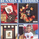 Leisure Arts A Year of Bunnies and Teddies 12 Designs to Cross Stitch