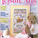 Leisure Arts The Magazine February 1999 Issue 20 Projects Cross Stitch Knit Crochet