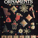 Leisure Arts Holiday Ornaments 30-Plus Designs to Knit Crochet Cross Stitch Needlepoint