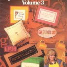 Leisure Arts Alphabets and Borders Volume 3 - 14 Alphabets and 23 Borders to Cross Stitch