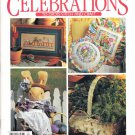 Leisure Arts Celebrations to Cross Stitch and Craft Magazine 24 Projects Spring 1994