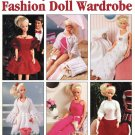 Leisure Arts Honeymoon Cruise Fashion Doll Wardrobe 25 Projects to Knit for Barbie and Ken