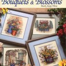 Leisure Arts Paula Vaughan's Bouquets and Blossoms Book 63 - 13 Designs to Cross Stitch