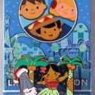 Disneyland Happy Holidays It's A Small World Mystery Pin Collection Hawaii Limited Edition 200