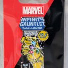 Disneyland runDisney Super Heroes Half Marathon Weekend 2017 Infinity Gauntlet Pin Limited Release