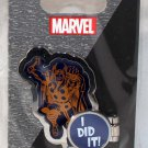 Disneyland runDisney Super Heroes Half Marathon Weekend 2017 Thor 10K I Did It Pin Limited Release