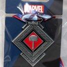 Disneyland runDisney Super Heroes Half Marathon Weekend 2017 Thor 10K Ribbon Medal Pin Limited