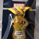 Disneyland runDisney Super Heroes Half Marathon Weekend 2017 Infinity Gauntlet Ribbon Medal Pin Ltd