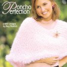 Leisure Arts Poncho Perfection 4 Designs to Knit