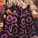Leisure Arts Afghans by the Dozen Grannies 12 Designs to Crochet