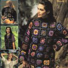 Leisure Arts Hooked on Fashion Book 2 - 3 Granny Square Designs to Crochet