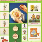 Leisure Arts Teach Yourself Counted Cross Stitch - Over 20 Charts