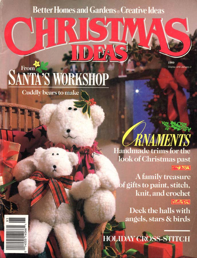 Better Homes And Gardens Christmas Crafts Magazine