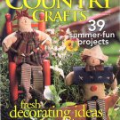 Better Homes and Gardens Country Crafts Magazine Summer 1999 - 39 Projects