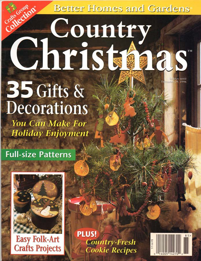 Images Of Better Homes And Gardens Christmas Craft Books