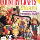 Better Homes and Gardens Country Crafts Magazine Summer 1995 - 35 Projects