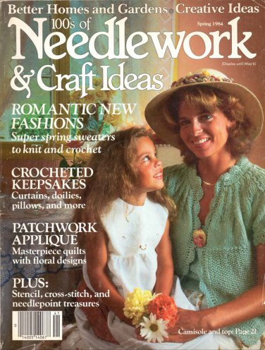 Better Homes and Gardens 100\'s of Needlework and Craft Ideas ...