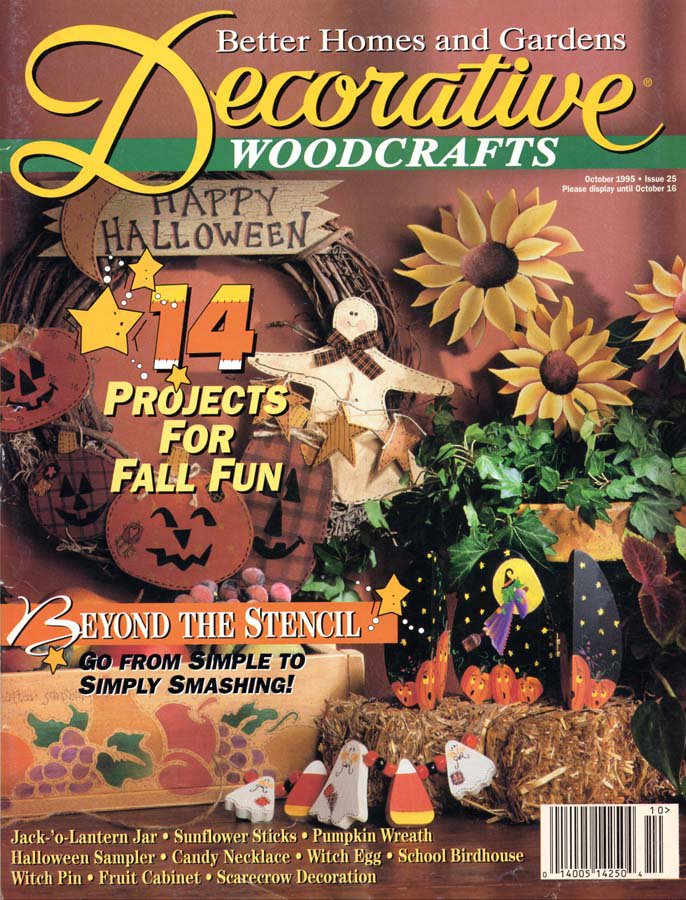 Better Homes And Gardens Decorative Woodcrafts Magazine