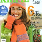 Better Homes and Gardens Knit It Magazine Fall 2006 Issue 42 Projects
