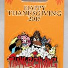 Disney Happy Thanksgiving 2017 Pin Lilo and Stitch Characters Limited Edition 4000